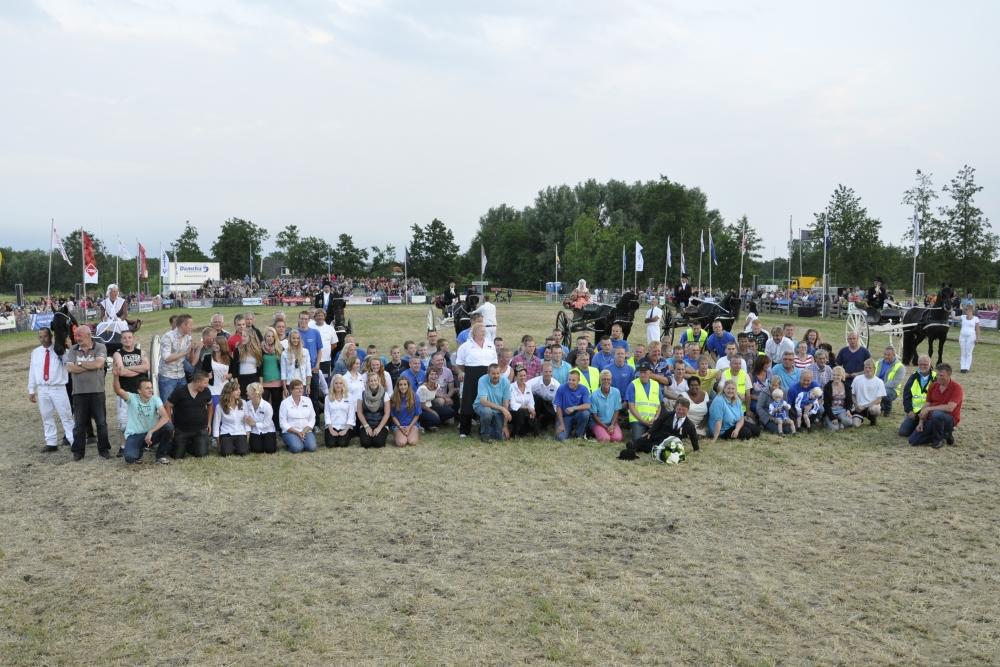 2012 Paardendagen Driezum Walterswald vrijwilligers